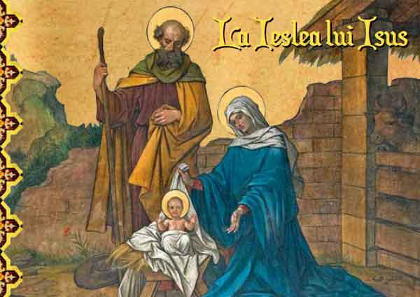 La ieslea lui Isus