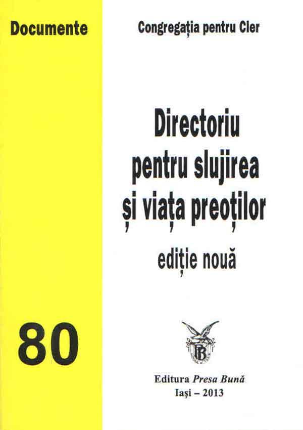 Directoriu pentru slujirea şi viaţa preoţilor