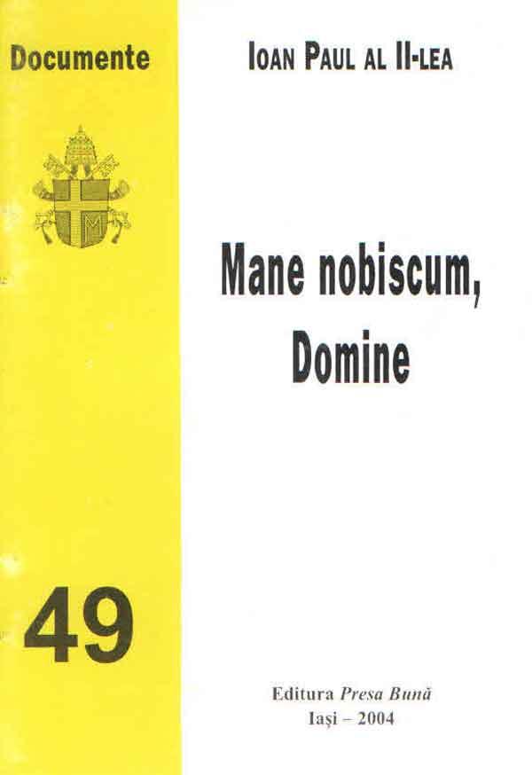 Mane nobiscum, Domine