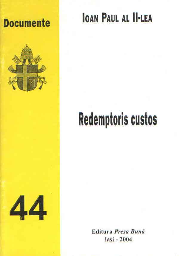 Redemptoris Custos