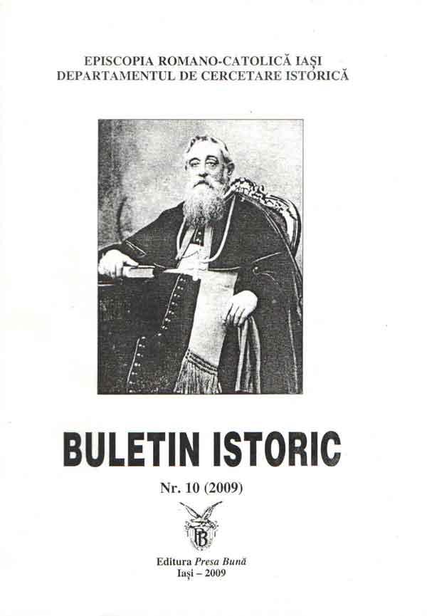 Buletin istoric. Nr. 10 (2009)