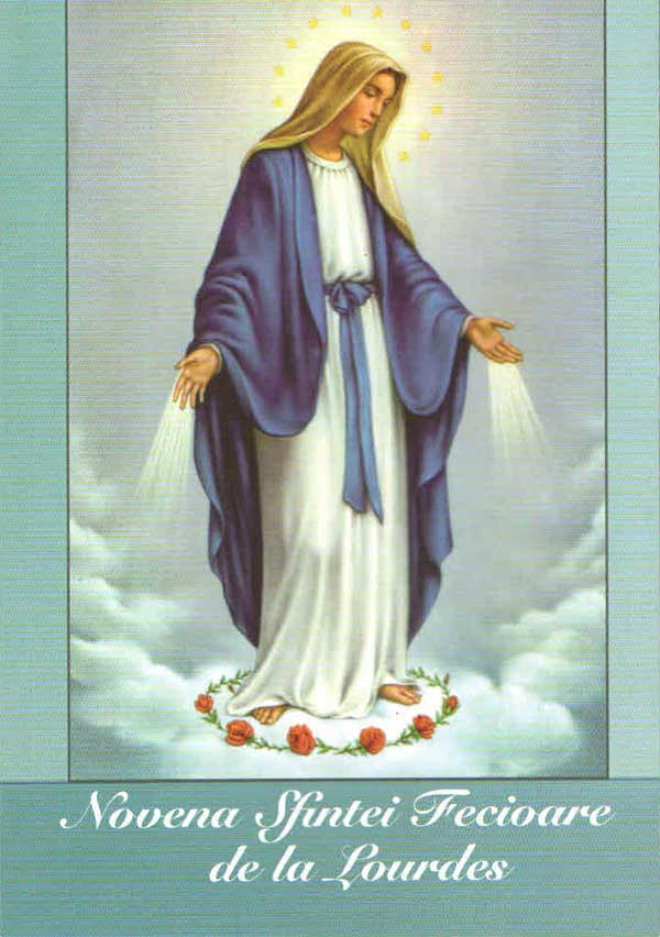 Novena Sfintei Fecioare de la Lourdes