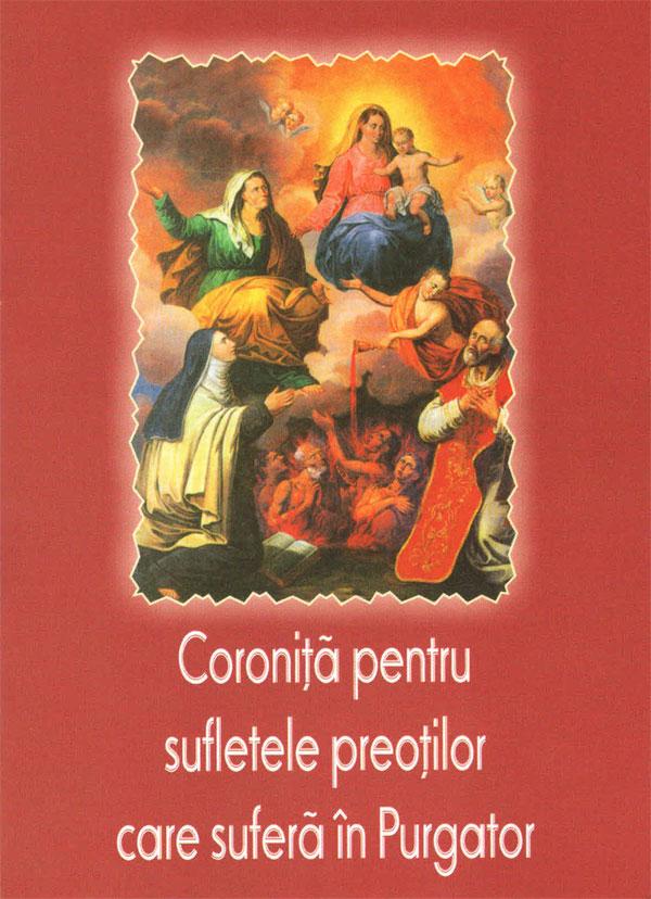 Coroniță pentru sufletele preoților care suferă în Purgator