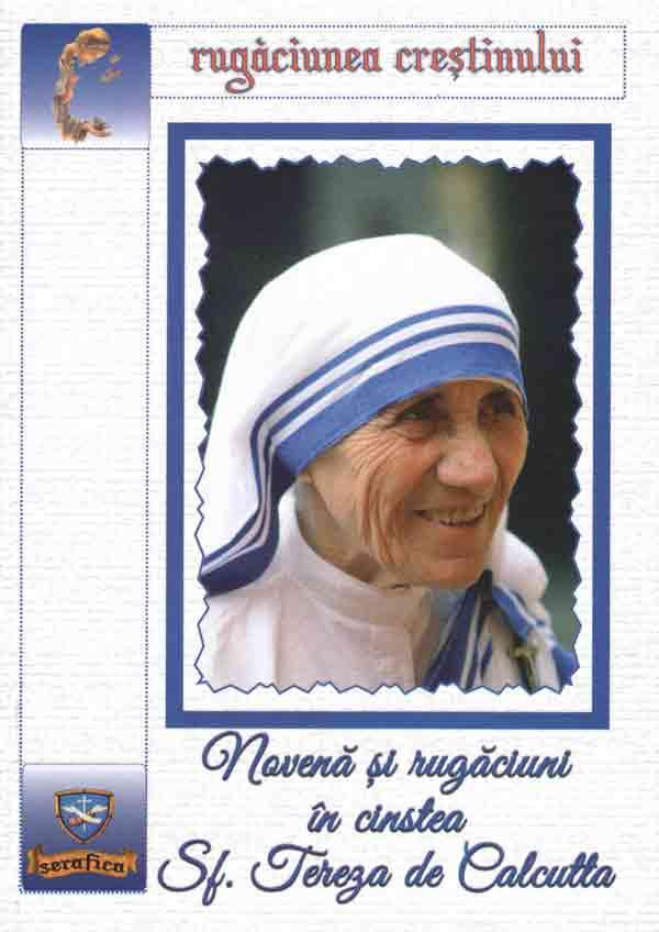 Novenă şi rugăciuni în cinstea Sf. Tereza de Calcutta
