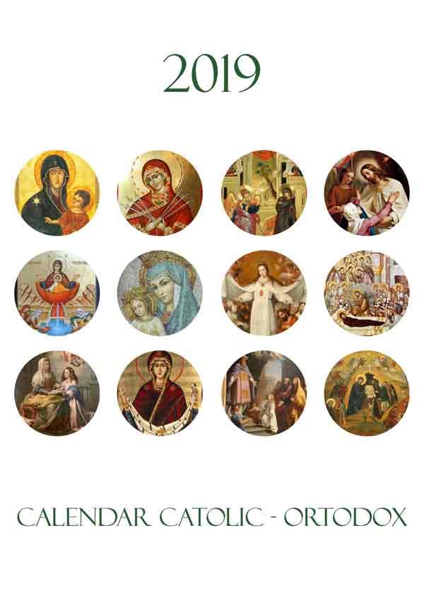 Calendar catolic-ortodox 2019