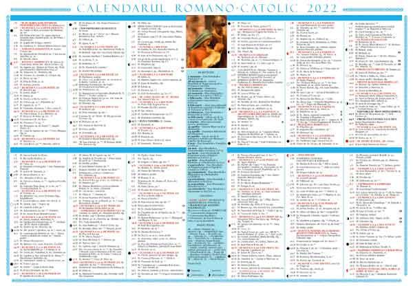 Calendar de perete 2020