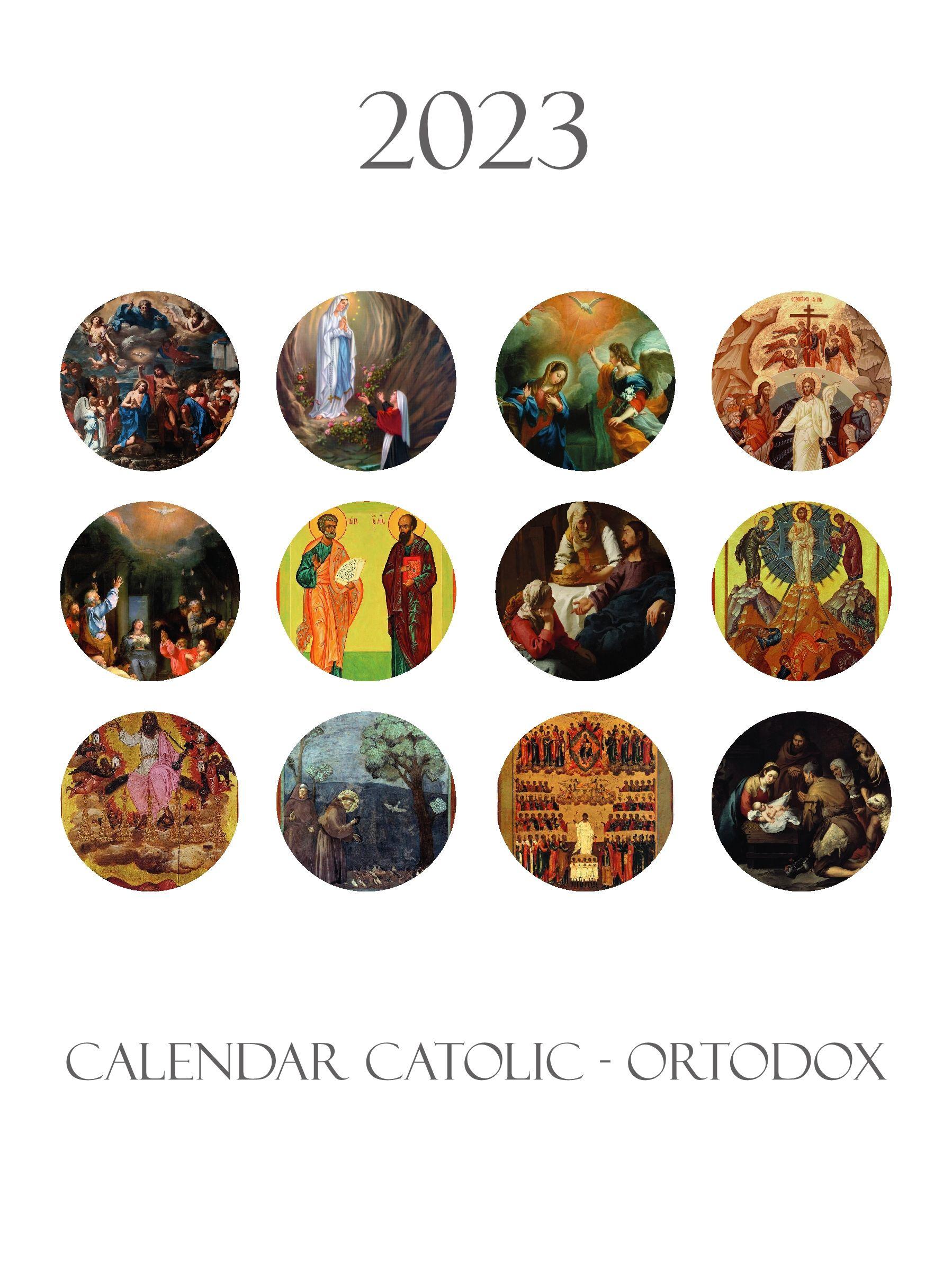 Calendar catolic-ortodox 2020